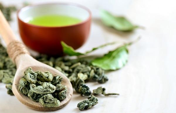 susz zielonej herbaty